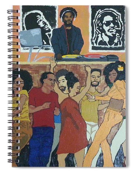 Bowl Train Spiral Notebook