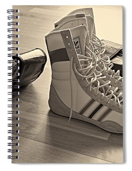 Boxing Spiral Notebook
