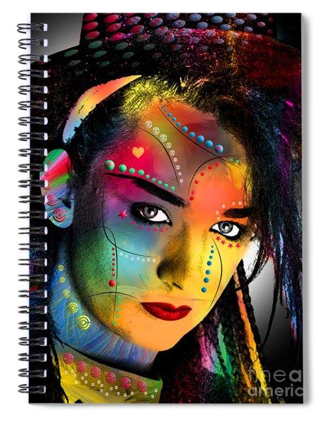 Boy George  Spiral Notebook