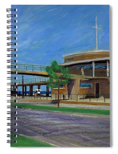 Bradford Beach House Spiral Notebook