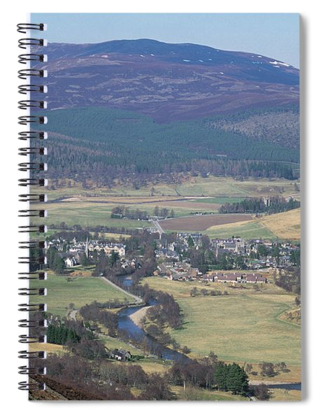 Braemar From Morrone Spiral Notebook