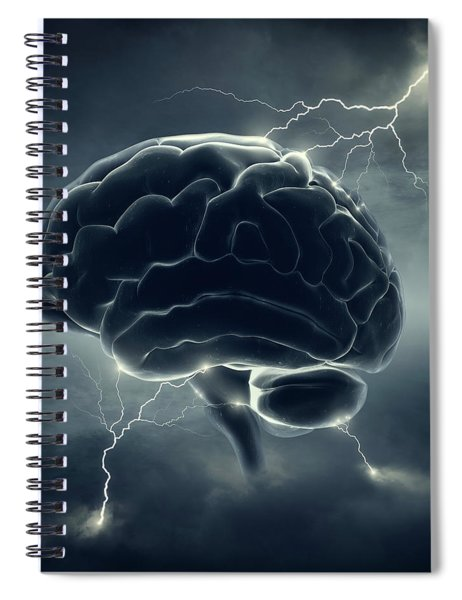 Brainstorm Spiral Notebook