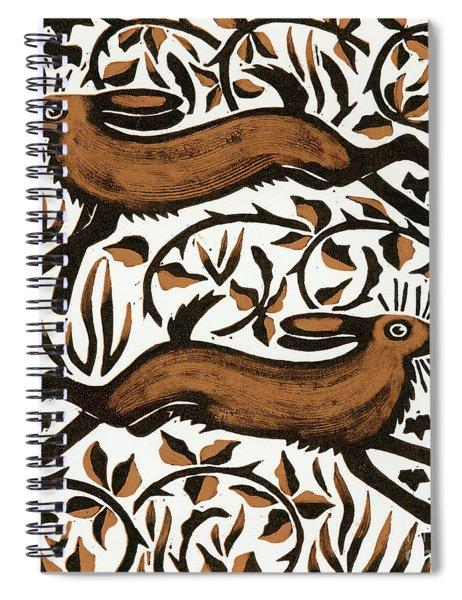 Bramble Hares Spiral Notebook