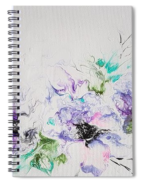 Branch Of Violet  Spiral Notebook