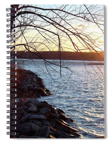 Late-summer Riverbank Spiral Notebook