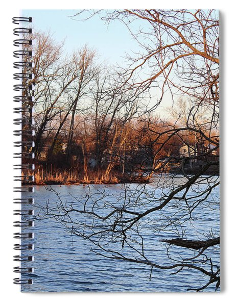 Branches Over Water Spiral Notebook