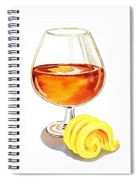 Brandy Butter Spiral Notebook