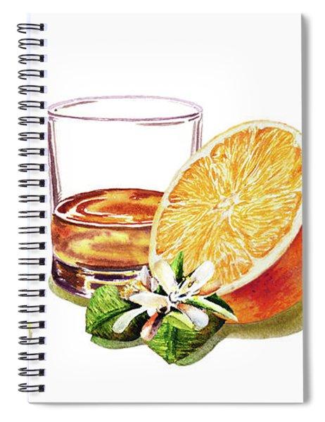 Brandy Whiskey Port Spiral Notebook