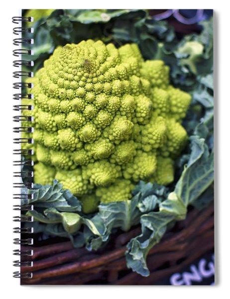 Brassica Oleracea Spiral Notebook