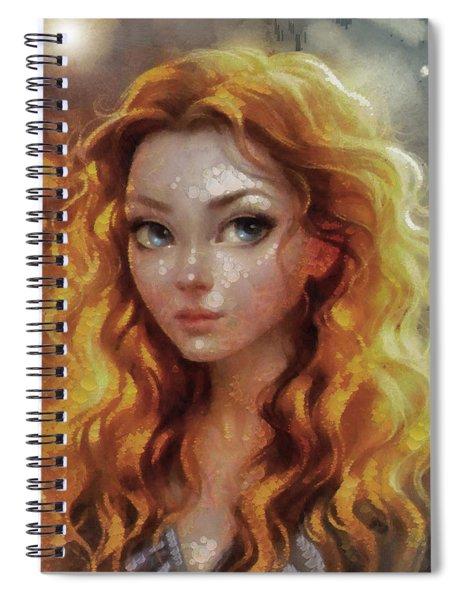 Brave Spiral Notebook