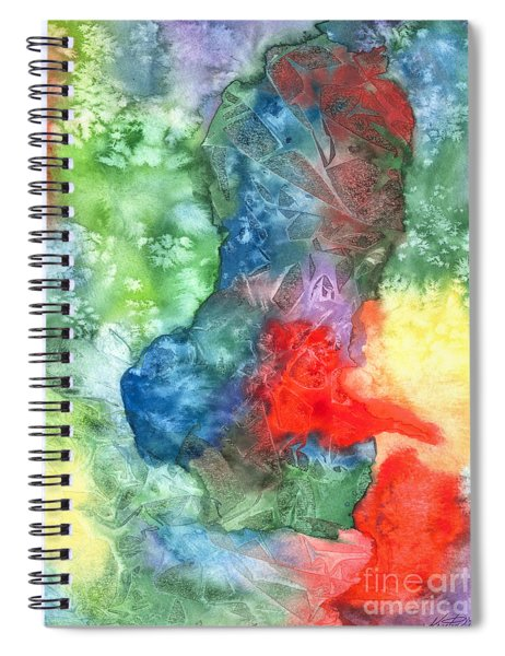 Breach Of Containment Spiral Notebook