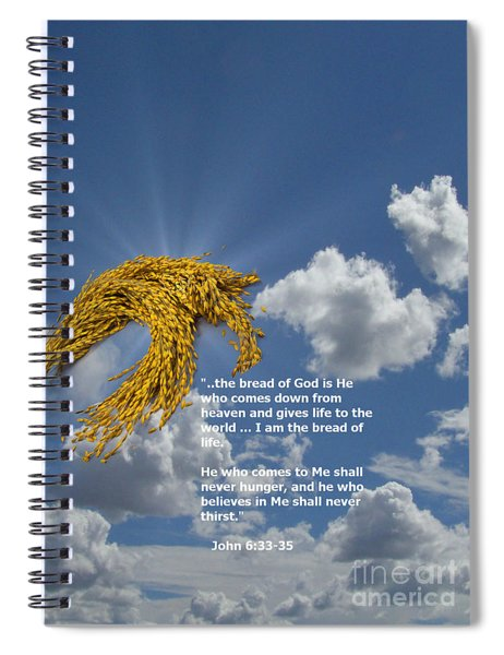 Bread Of Life Spiral Notebook