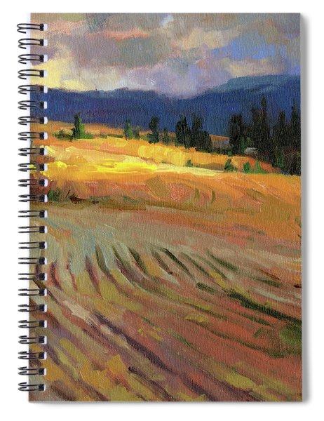 Break In The Weather Spiral Notebook