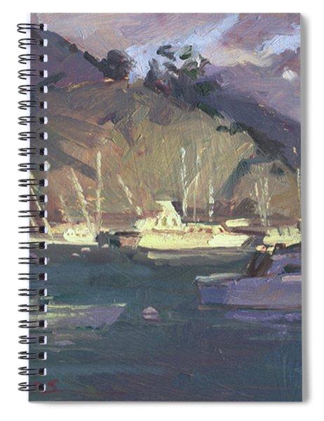 Break Of Dawn-avalon Spiral Notebook