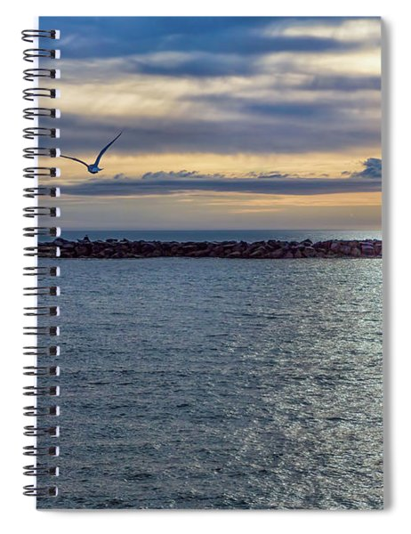 Break Water Spiral Notebook