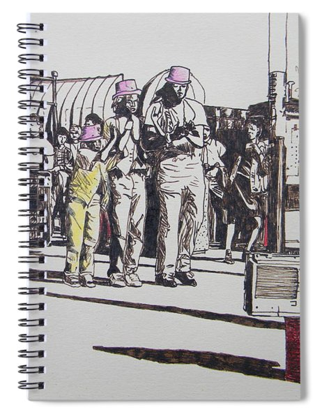Breakdance San Francisco Spiral Notebook