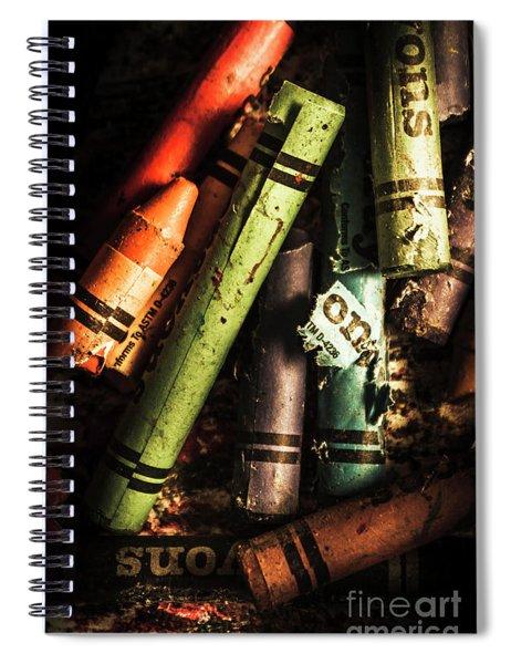Breakdown Of Color Spiral Notebook