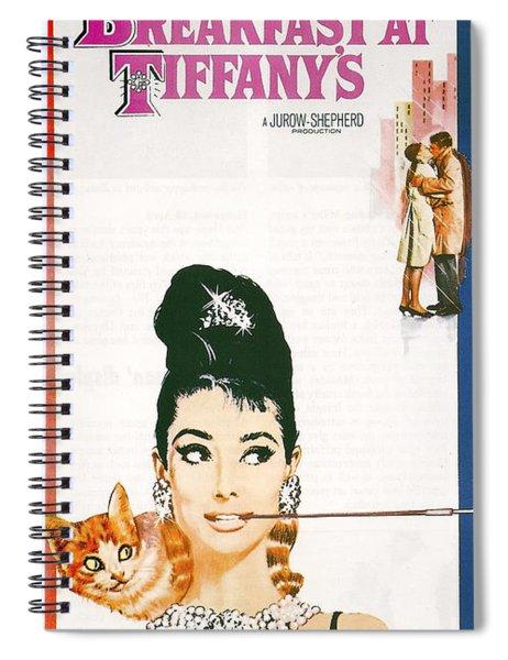 Breakfast At Tiffany's Spiral Notebook