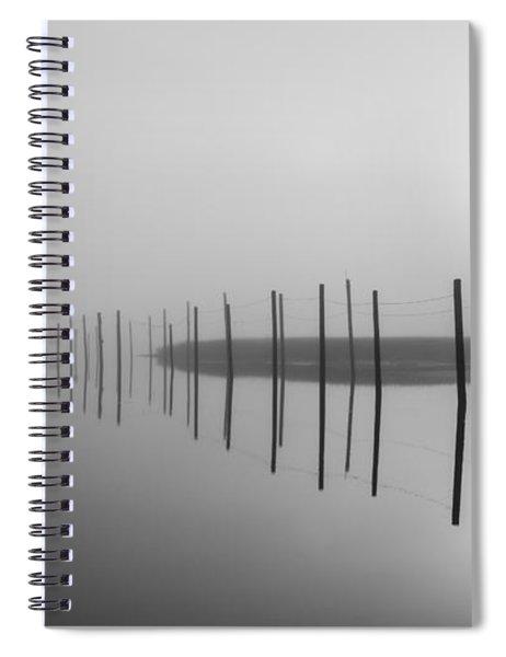 Breaking Through The Fog Spiral Notebook