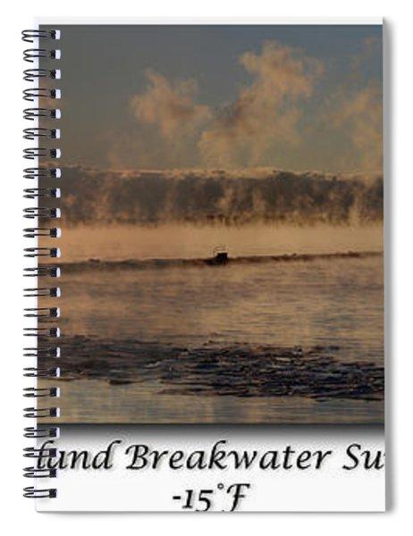 Breakwater Sunrise Spiral Notebook