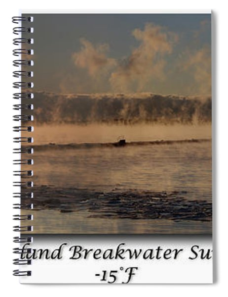Breakwater Sunrise Spiral Notebook