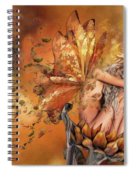 Breath Of Autumn Spiral Notebook