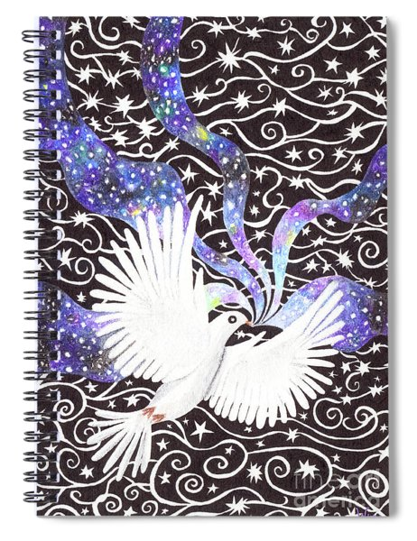 Breathing Life Into Darkness Spiral Notebook