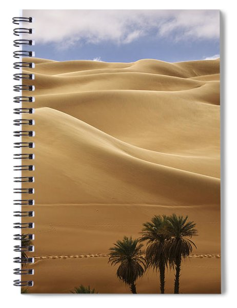 Breathtaking Sand Dunes Spiral Notebook