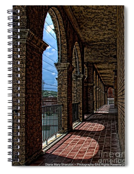 Breezway On The Baker Spiral Notebook