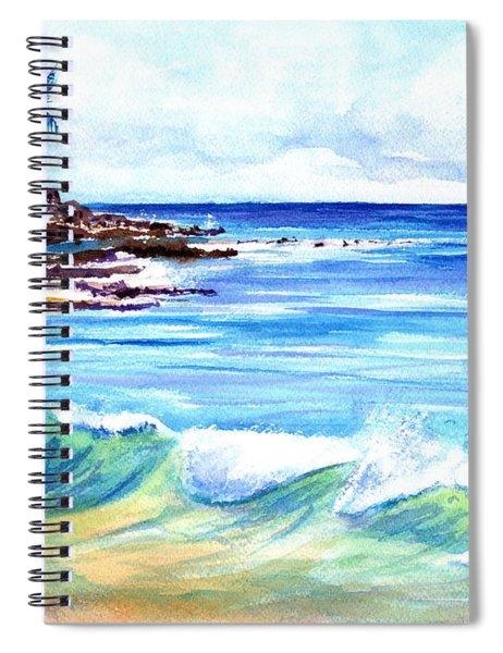 Brennecke's Beach Spiral Notebook