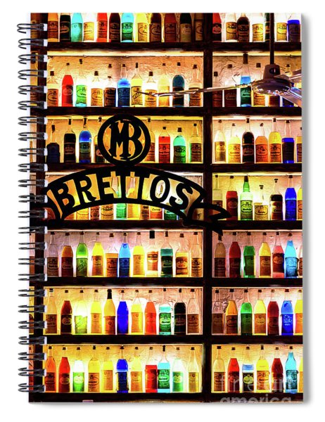 Brettos Bar In Athens, Greece - The Oldest Distillery In Athens Spiral Notebook