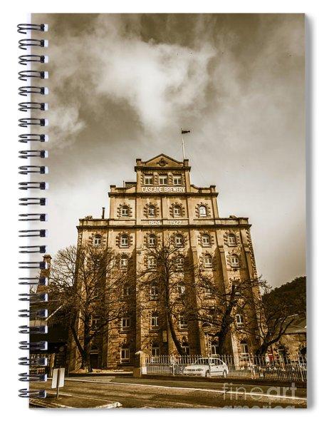 Brewery Building Spiral Notebook
