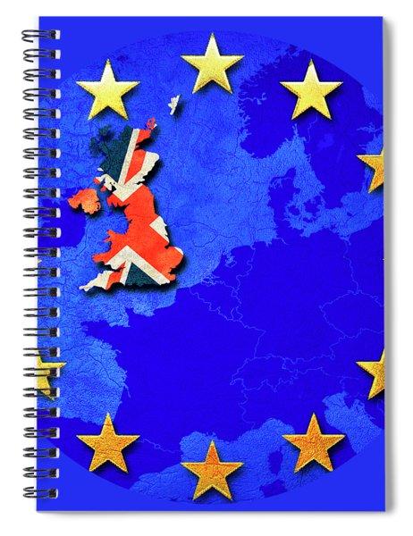 Brexit Spiral Notebook