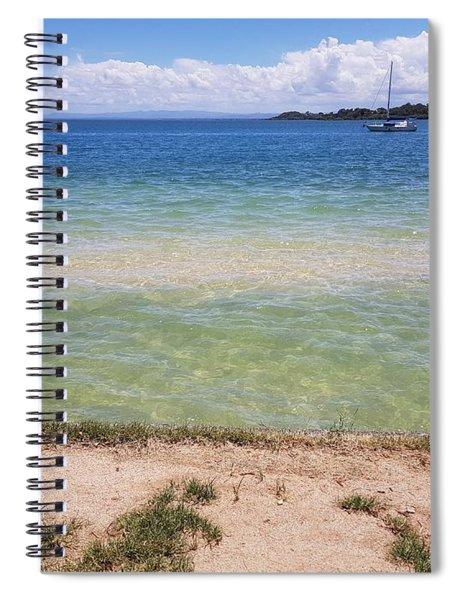 Bribie Ocean  Spiral Notebook