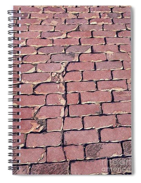 Brick Pavers Spiral Notebook