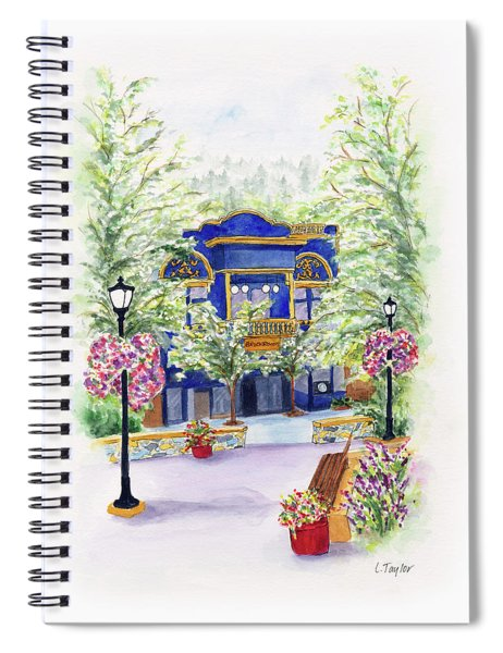 Brickroom On The Plaza Spiral Notebook
