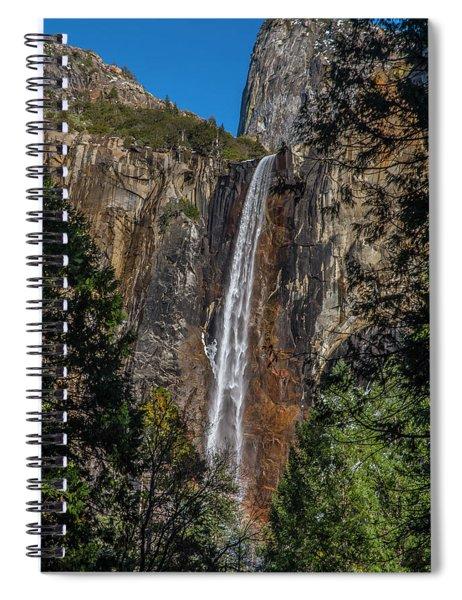 Bridal Veil Falls - My Original View Spiral Notebook