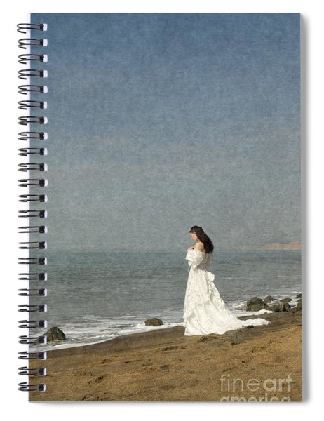 Bride By The Sea Spiral Notebook