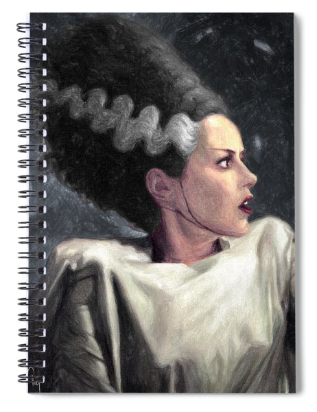Bride Of Frankenstein Spiral Notebook