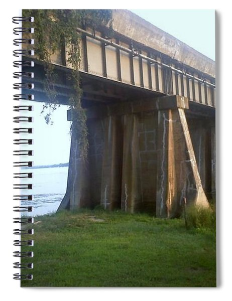 Bridge In Leesylvania Park Va Spiral Notebook