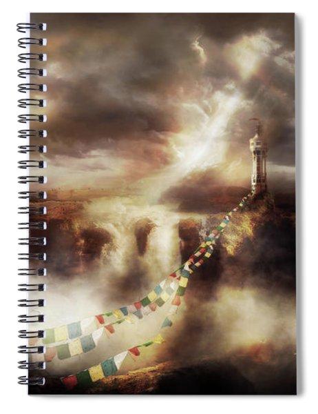 Bridge Of Prayers Spiral Notebook