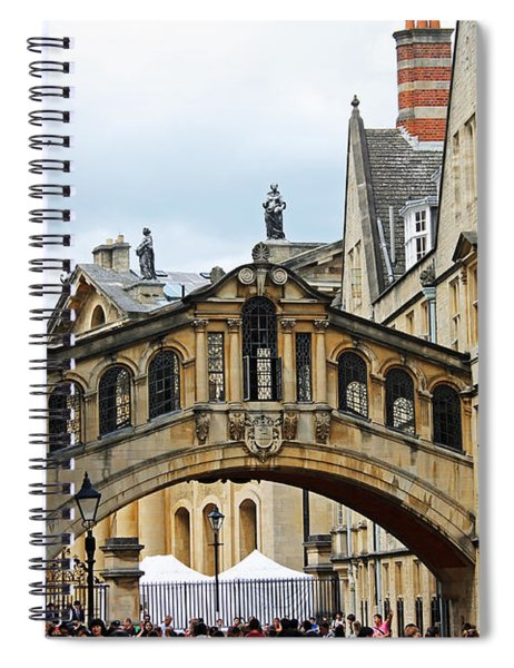 Bridge Of Sighs Spiral Notebook