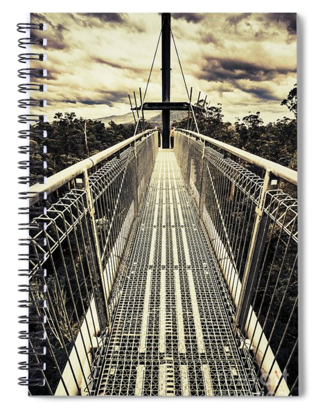 Bridge Of Suspension  Spiral Notebook