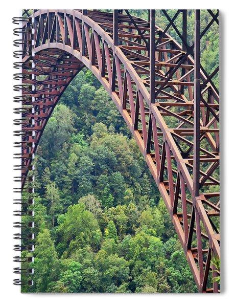 Bridge Of Trees Spiral Notebook