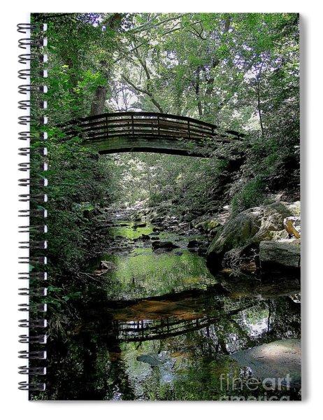 Bridge Reflections Spiral Notebook