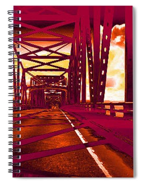 Bridge To Astoria #1 Spiral Notebook