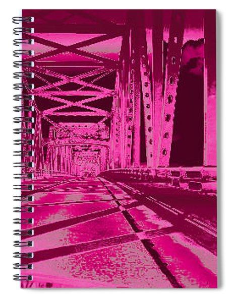 Bridge To Astoria #3 Spiral Notebook