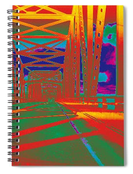 bridge to Astoria #4 Spiral Notebook