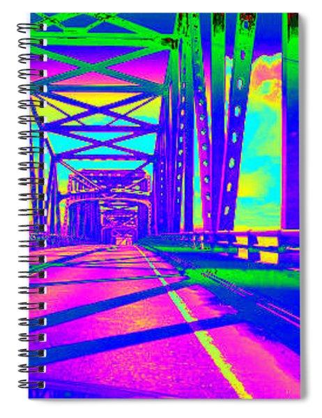 bridge to Astoria #5 Spiral Notebook
