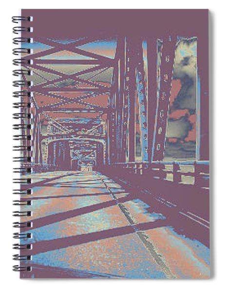 bridge to Astoria #6 Spiral Notebook